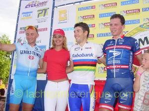 Davide Rebellin, RondeMiss, Oscar Freire en Max van Heeswijk