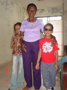 Oma Leoncia en Luchiano