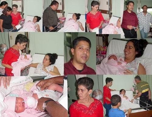 Op 31 januari 2005 is Anna-Maria, dochter van Yohanna en Figaroa, geboren!