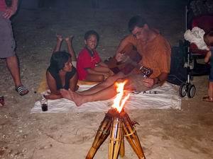 BBQ Daaibooibaai met Chandra en Walter