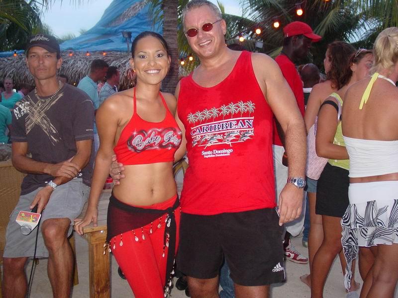 CasaSpider meets Miss Universe Curacao 2004 Angeline da Silva de Goës, klik voor groter