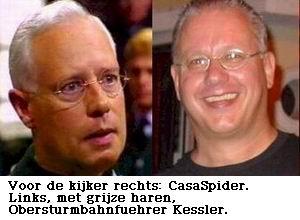 Lijkt Obersturmbahnfuehrer Kessler echt op CasaSpider?