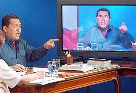 El Presidente de Venezuela: Hugo Chavez!