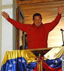 Hugo Chávez Frías wint Referendum Revocatorio