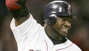 David Ortiz zorgt voor de winnende honkslag in Game 5 tussen de Red Sox en de Yankees