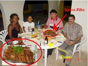 Cubanen Willy & Reynaldo komen spare-ribs eten en Duvel drinken