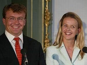 Prins Friso en Mabel Wisse Smit