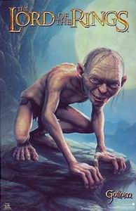 Gollum, CasaSpider's favoriete figuur uit de Lord of the Rings