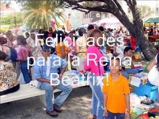 Koninginnedag 2005 Curacao
