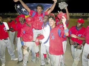 Nederlandse Antillen verslaan Aruba in zinderende honkbalfinale