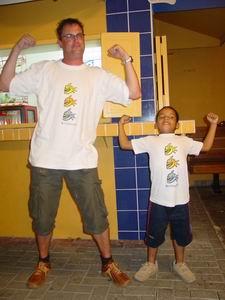Luc & Luchiano: de zes Piranhas (uit Bonaire)!