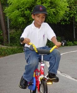 Luchiano fiets als een dolle!