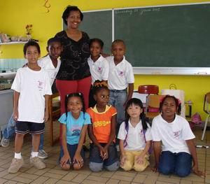 Marnix-school klas 3B met juffrouw Bergen