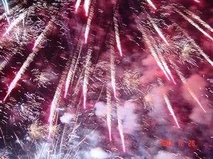 Moo's Vuurwerkshow op tweede Kerstdag