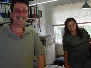 Piet huurt Pausmobiel bij Malinka van Carvahome