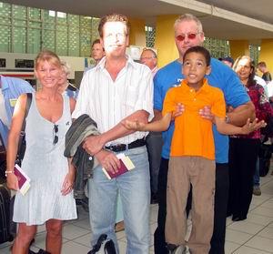 Hato International Airport, Piet en Verina nemen afscheid