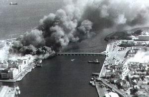 30 Mei 1969, Punda staat in brand