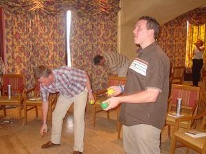 Drie keer per dag jongleren (minstens)