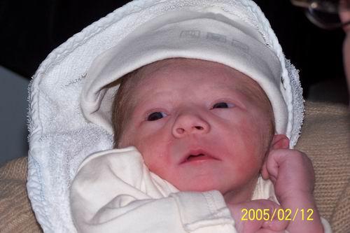 Op 12.02.2005 is Tom van Deuren geboren!