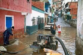 Regen zorgt voor veel ellende in Venezuela en Colombia