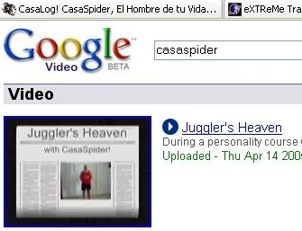 CasaSpider op Google Video