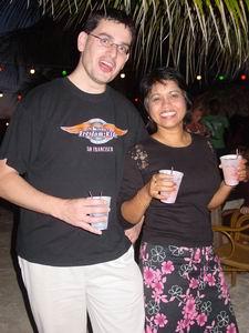 Walter & Chandra on Curacao!