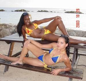 Chicas de la Semana: Zayenne en vriendin!