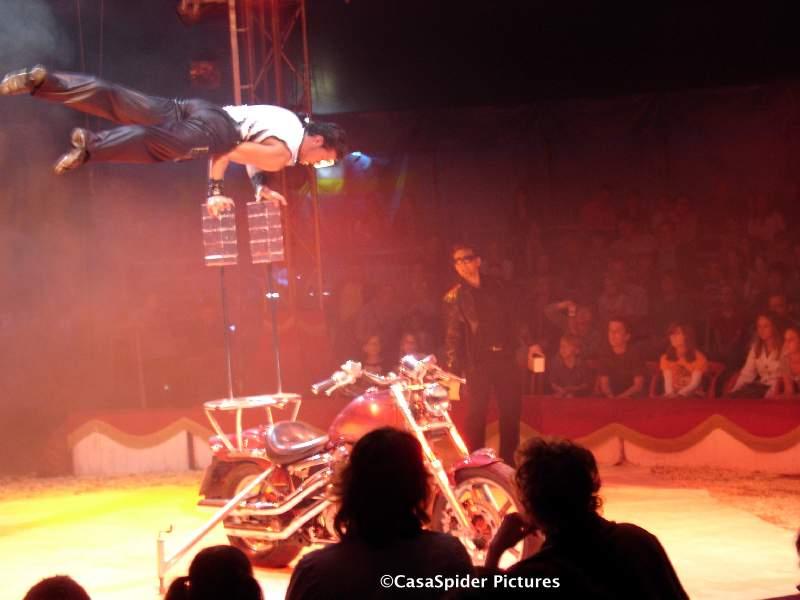 18.05.2008: Ter ere van de verjaardagen van CasaSpider (37) en Bongo (30) huurde Albert Heijn te Rijen Circus Bongo af. Klik voor groter.