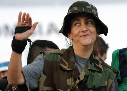 02.07.2008: Ingrid Betancourt (46) is na ruim zes jaar bevrijd uit haar gevangenschap bij het FARC.