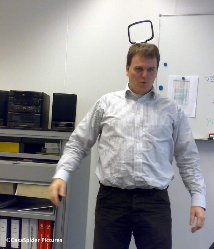 25.11.2008: Stefan den Engelsman, ook inzetbaar als FM-antenne en vijfde T.... Klik voor groter